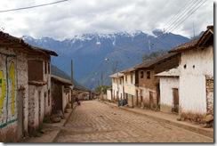 Cachora, village de depart